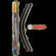 Sada stěračů Bosch Aerotwin A942S 650+650mm