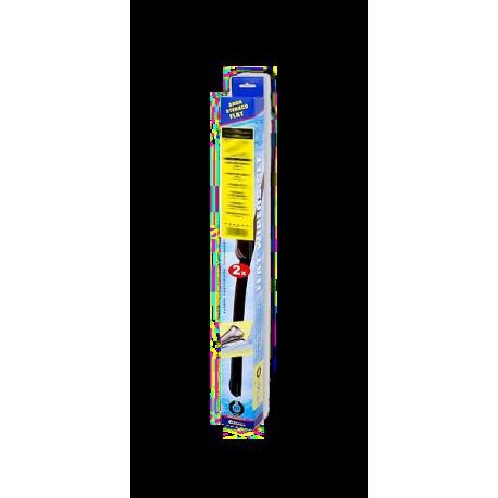 Sada přesných flat stěračů 53+53cm CUBE ŠKODA FABIA ROOMSTER Compass