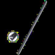 Gumičky do stěračů grafit s lištou 2ks