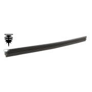 Gumičky do stěračů grafit 7-břit 610mm - 2ks