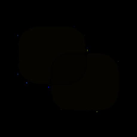 Clona sluneční boční černá 2 přísavky