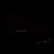 Roletka boční 2x42cm s aretací - přísavky