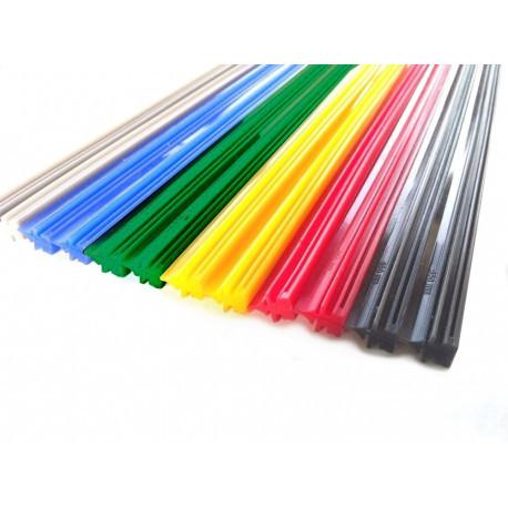Gumička do stěračů - silikonové barevné 610mm 1ks